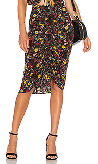 Цветочная юбка с рюшами trina - Tularosa