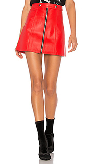 X revolve high waisted zip skirt - Understated Leather