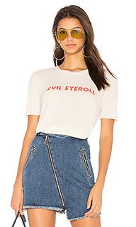 Футболка evil eyeroll - Wildfox Couture