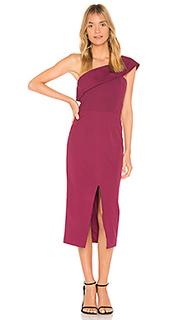 Платье-миди с открытым плечом that jazz - Yumi Kim