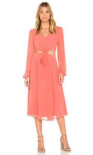 Платье с длинным рукавом open heart - Yumi Kim