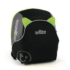 Автокресло-рюкзак черно-зеленое Knorrtoys.Com