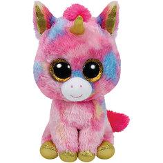 "Мягкая игрушка ""Единорог Fantasia 15 см"", Beanie Boos, Ty"