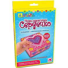 "Мозаика-шкатулка складная ""Сердечко"", Оригами Origami"