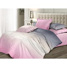 Постельное белье 2,0 Розовый Зефир, Унисон, сатин