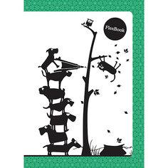 """Зеленая тетрадь А5 """"Flex book"""" 80 листов Limpopo"""