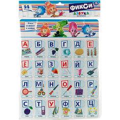 """Карточик на магнитах """" Учим алфавит и цифры . Фиксики"""". Умка"""