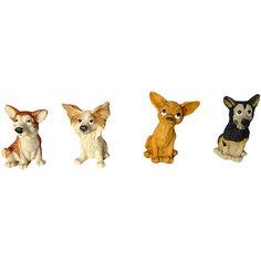 Сувенир Собака 7,5 см, в ассорт. Новогодняя сказка