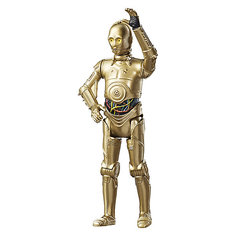 "Фигурка с аксессуарами Hasbro Star Wars ""Эпизод 8"" C3PO, 9 см"