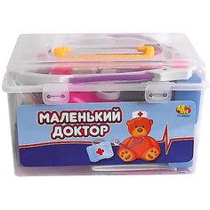 """Игровой набор Abtoys """"Маленький доктор"""" в чемоданчике, 22 предмета"""