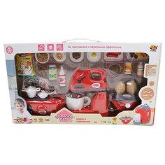 """Игровой набор Abtoys """"Помогаю маме"""" Кухонная техника с продуктами"""