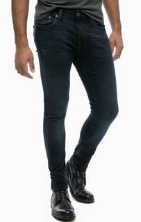Синие джинсы скинни с пятью карманами Mavi