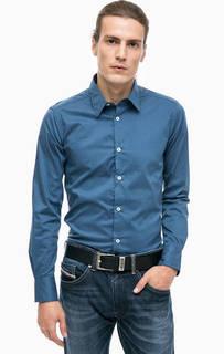 Приталенная рубашка в горошек Alcott