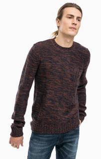 Трикотажный свитер с карманом Alcott