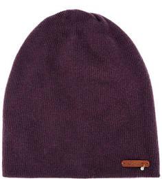 Фиолетовая шапка из шерсти Noryalli
