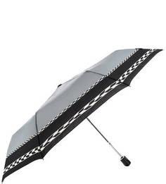Складной зонт с куполом серого цвета Doppler