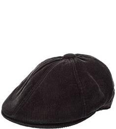 Черная кепка из вельвета Goorin Bros.