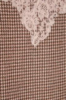 Шерстяное платье с кружевом Ermanno Ermanno Scervino