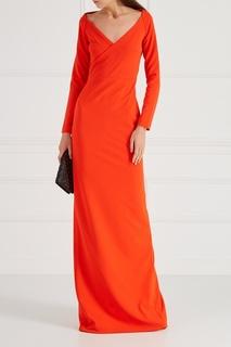 Красное платье-макси Solace