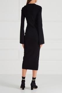 Черное платье-футляр Solace