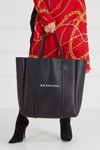 Черная сумка-тоут с логотипом Everyday Tote L