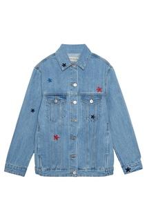 Джинсовая куртка со звездами Etre Cecile