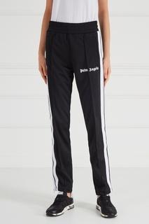 Черные брюки с лампасами Palm Angels