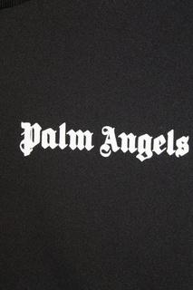 Черная олимпийка с лампасами Palm Angels