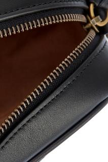 Кожаная сумка GG Marmont с монограммой Gucci