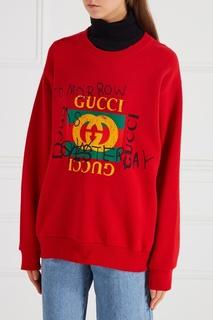 Хлопковый свитшот Coco Kapitan Gucci
