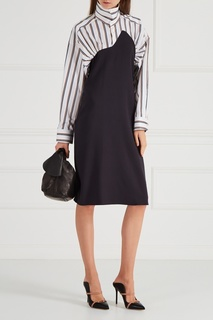 Асимметричное платье-рубашка Aalto