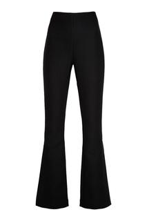 Черные брюки-клеш Awake