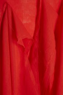Хлопковое платье с асимметричным декором Awake