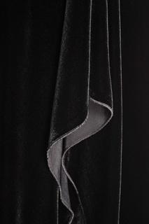 Бархатное платье с асимметричным подолом Roland Mouret