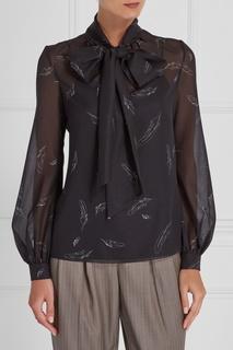 Блузка с контурным принтом A LA Russe