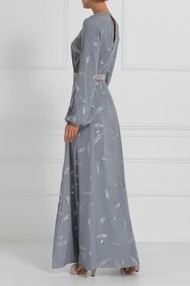 Шелковое платье в пол A LA Russe