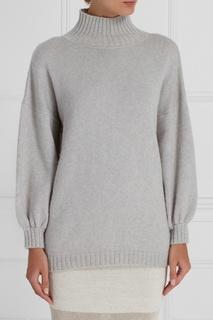 Серый шерстяной свитер A LA Russe