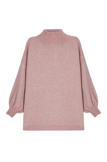 Розовый свитер из шерсти A LA Russe