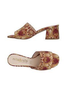 Сандалии Nila & Nila
