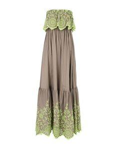 Длинное платье Manuel Luciano