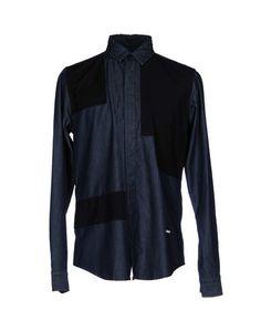 Джинсовая рубашка Labelroute