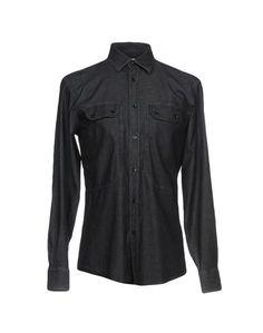 Джинсовая рубашка Versace Collection
