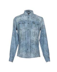 Джинсовая рубашка Guess