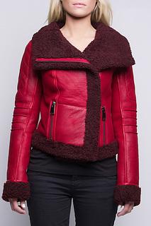 sheepskin jacket John & Yoko