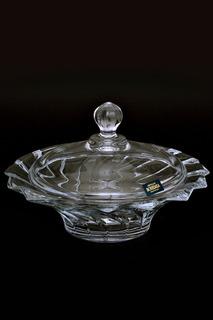 Конфетница с крышкой 21 см Crystalite Bohemia