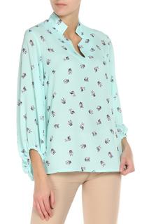 Блуза с звериным принтом Adzhedo