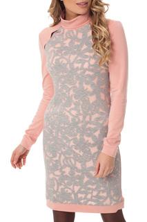 Платье карандаш с разрезной кокеткой Gloss