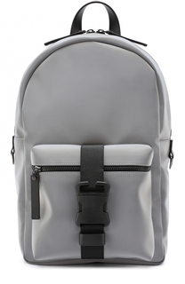 Текстильный рюкзак с внешним карманом на молнии Christopher Kane
