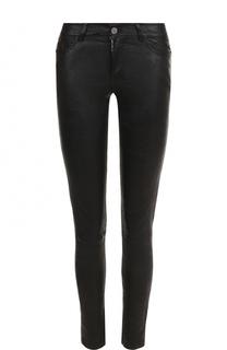 Однотонные кожаные брюки-скинни Zadig&Voltaire Zadig&Voltaire