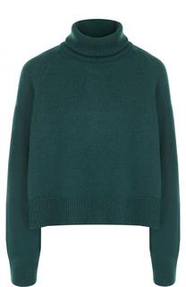 Шерстяной укороченный свитер с металлизированной нитью Zadig&Voltaire Zadig&Voltaire